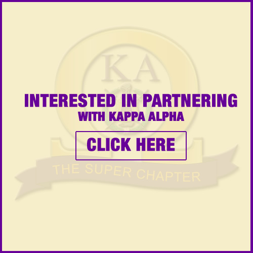 Partner with Kappa Alpha